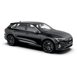 Audi E-tron with Gunner Black polish