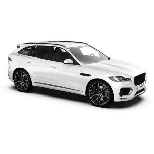 Jaguar F-pace with Gunner Black polish